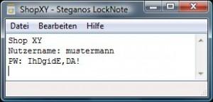 locknote