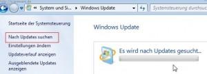 Windows 7: Nach Updates suchen
