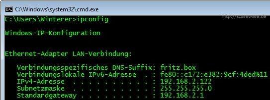 ipconfig_windows7