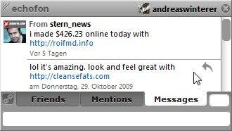 Twitter-Konto @stern_news: für Werbe-Spam missbraucht