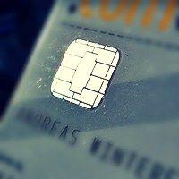 EC-Karten-Chip (unabgeklebt)
