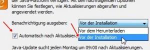 Java: Automatisch nach Aktualisierungen suchen