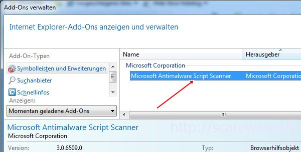 MSE 2.0 (Beta): Microsoft Antimalware Script Scanner im Internet Explorer