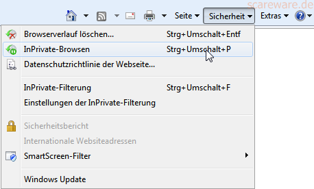 privates fenster bei firefox