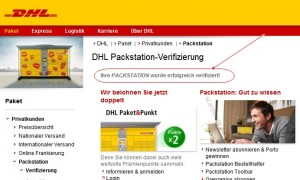DHL Packstation: Phishing-Website verifiziert