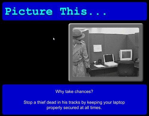 Save IT - Security Awareness Screen Saver