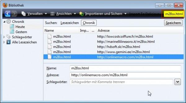 m28sx.html in Firefox-Chronik