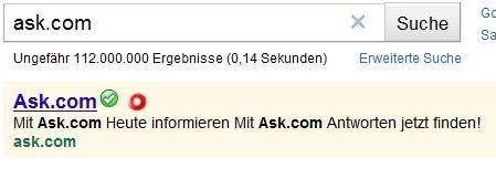Ist ask.com gefährlich?