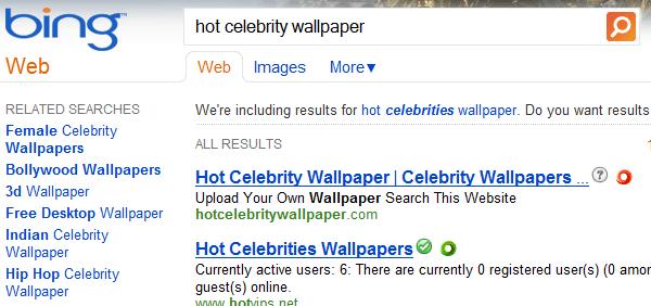 WOT und SiteAdvisor arbeiten selbstverständlich auch mit anderen Suchmaschinen