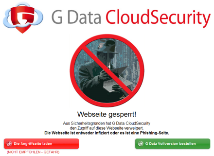 G Data Cloud Security