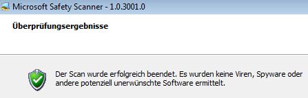 Microsoft SafetyScan: Virensuche gratis