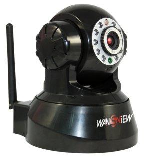 Typische, fernsteuerbare WLAN-Webcam von wansview.com