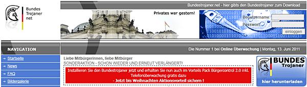 Scherz-Website www.bundestrojaner.net
