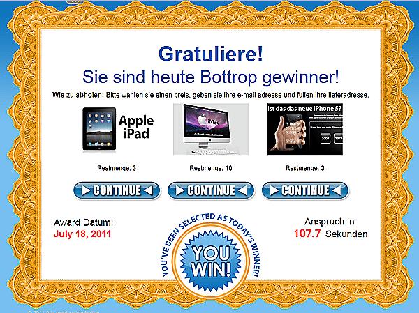 Endlich Gewinner! Und alles von Apple!