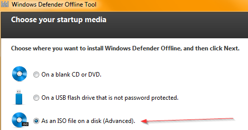Windows Defender Offline Tool (Beta)