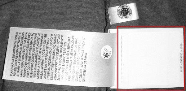 RFID-T-Shirt von C&A