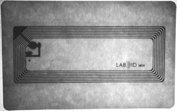 Fahrkarte mit RFID-Chip