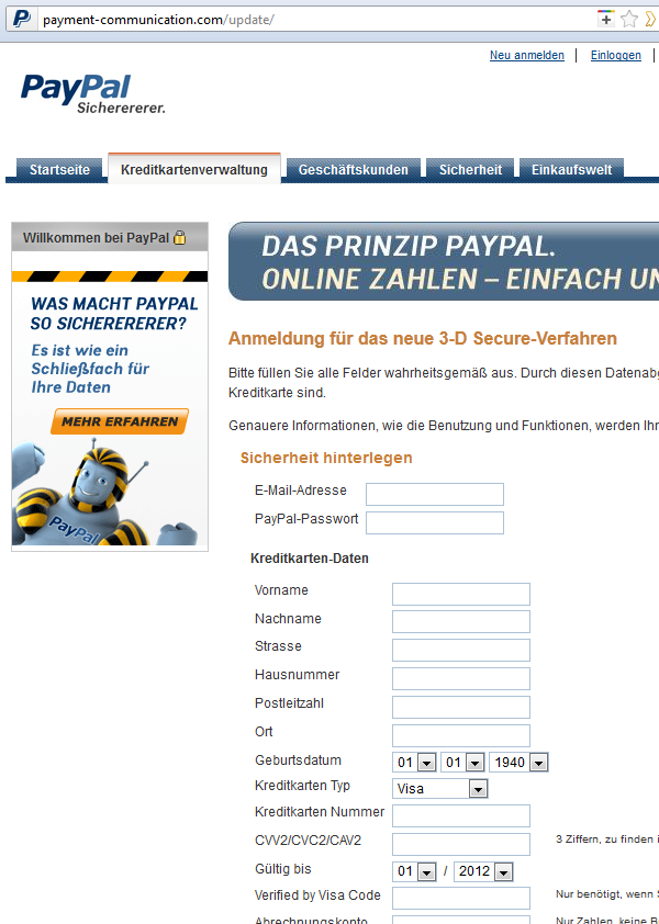PayPal-Phishing-Fake-Website