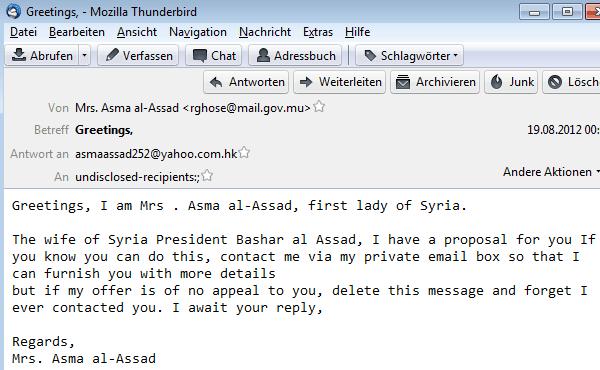 Assad Syria Nigeria