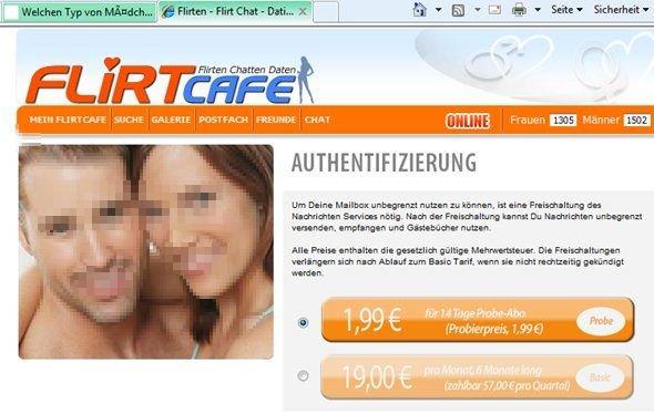 Flirtcafe kostenlos account löschen