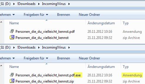 Personen_die_du_vielleicht_kennst.zip mit Personen_die_du_vielleicht_kennst.pdf.exe
