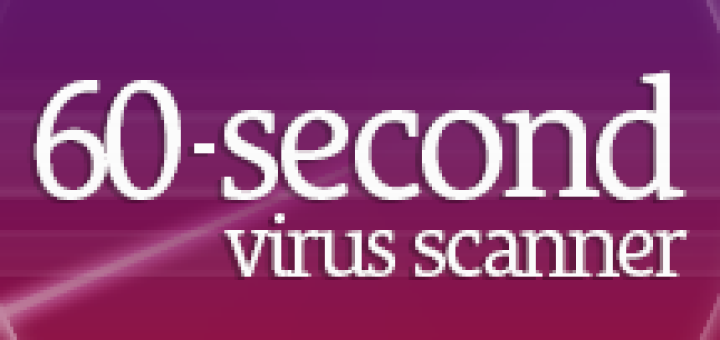Bitdefender 60-Second Virus Scanner