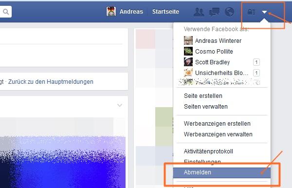 facebook_ausloggen