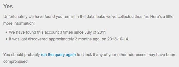 pwnedlist.com: gehacktes Passwort gefunden