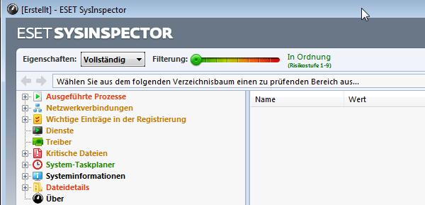 Eset SysInspector