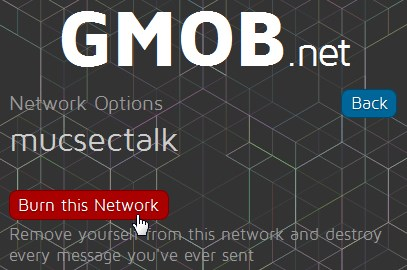 gmob: burn this network