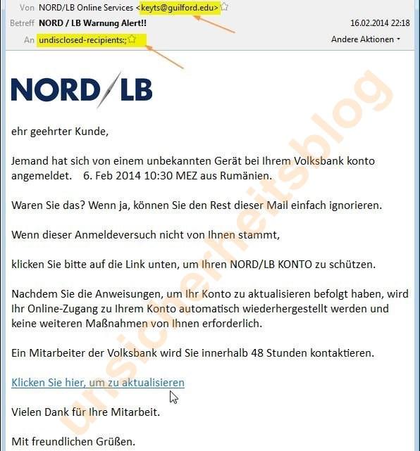 NORD / LB Warnung Alert!!