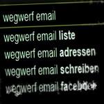 Wegwerf-E-Mail-Adressen
