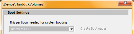 DiskCryptor: Boot Settings