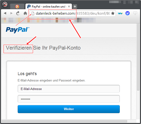paypal account verifizieren