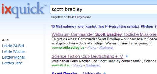 Sichere Suchmaschine: Ixquick