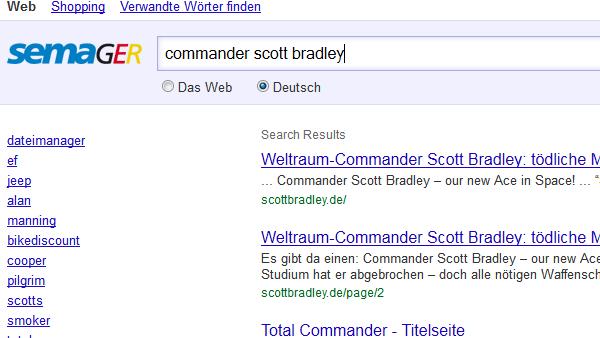 Sichere Suchmaschine SemaGer