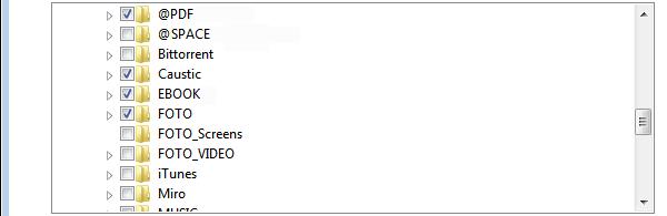 Windows-Datensicherung: manuell Ordner hinzufügen