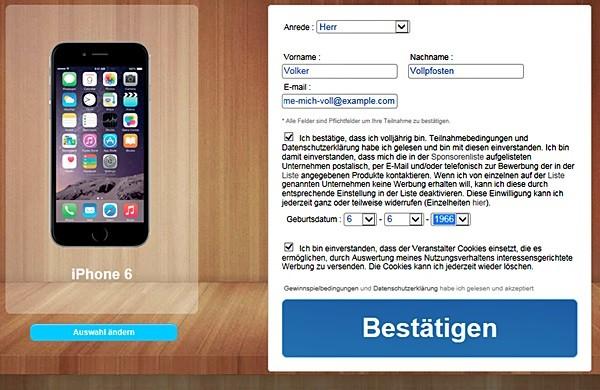 Instagram for PC: mal schön freiwillig seine Adresse übergeben
