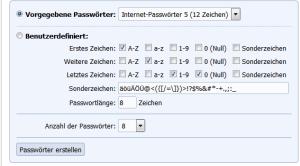 Passwort Generator online: Gaijin