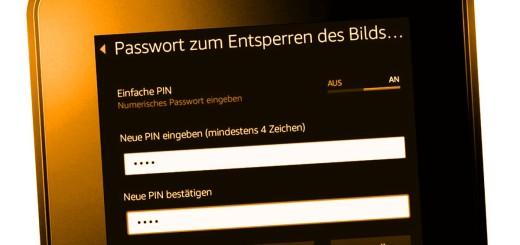 Passwort aktivieren auf Kindle Fire 7 HD