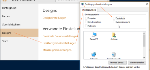 Windows 10 Papierkorb