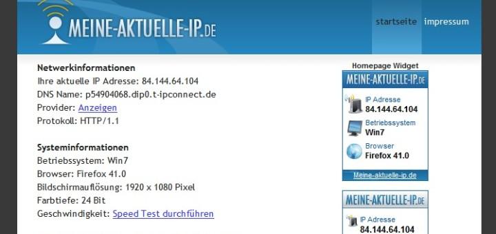 IP-Adresse herausfinden & ermitteln