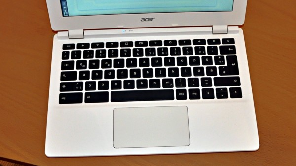 Okay: das Acer Chromebook-Keyboard