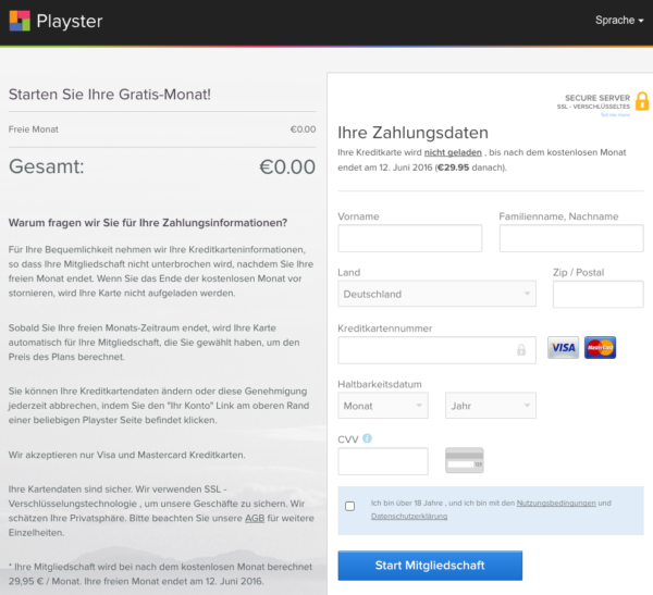 playster.com legal? Kosten? Kündigen?